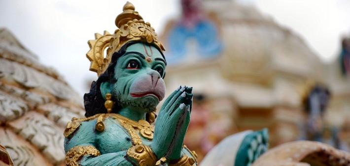 Hanumānāsana : La posture du grand-écart