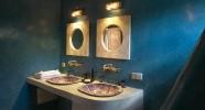 Salle de bain d'une fermette