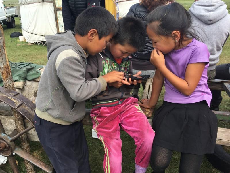 Des enfants d'éleveurs à la pointe de la technologie