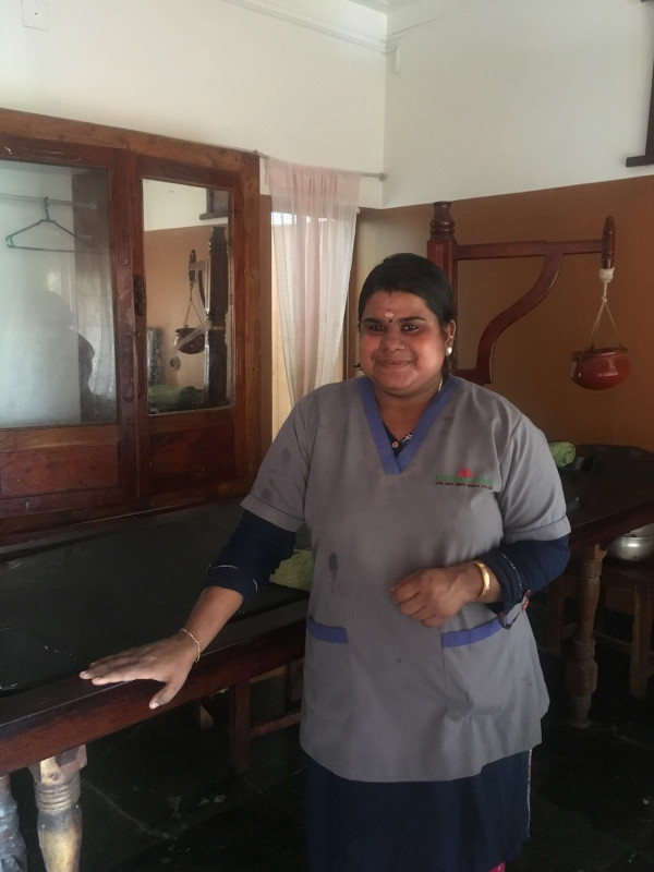 Athira S., une masseuse aux petits soins