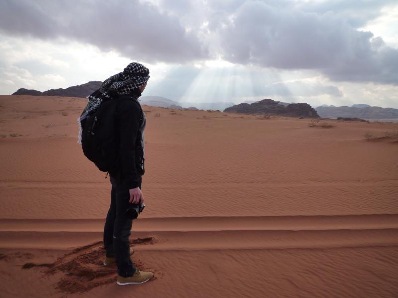 mon fils et le désert