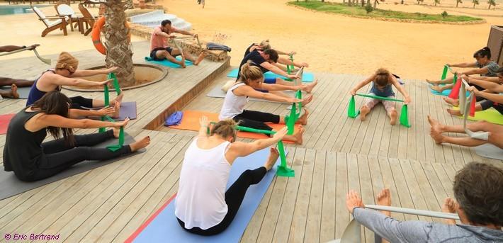 Jours 2 à 5. Séances de Pilates - Kitesurf (en option)